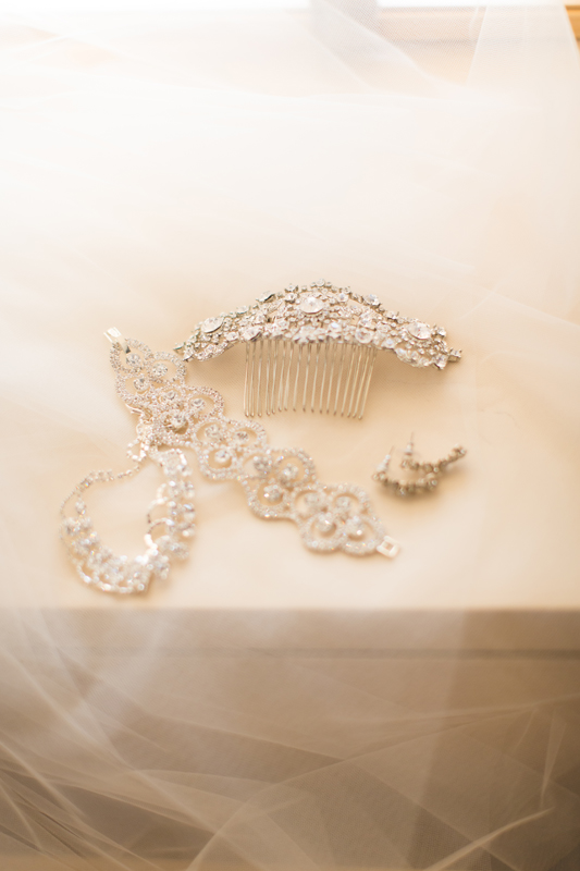 orange county regional history center intimate wedding pretty bridal details and jewelry