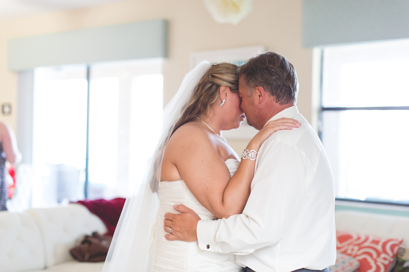 orange county regional history center intimate wedding bride and groom first dance