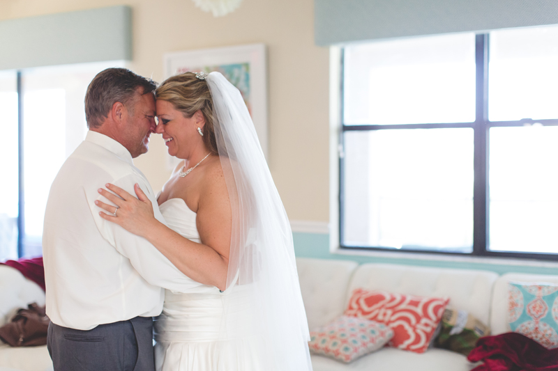orange county regional history center intimate wedding bride and groom dancing at reception