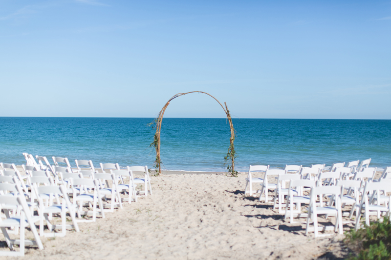 Beach Ceremony - Beach Wedding Photos - destination Orlando wedding photographer - Jaime DiOrio
