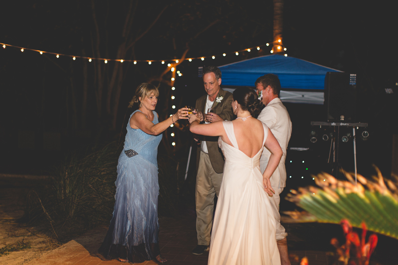 Bride dancing - Beach Wedding Photos - destination Orlando wedding photographer - Jaime DiOrio
