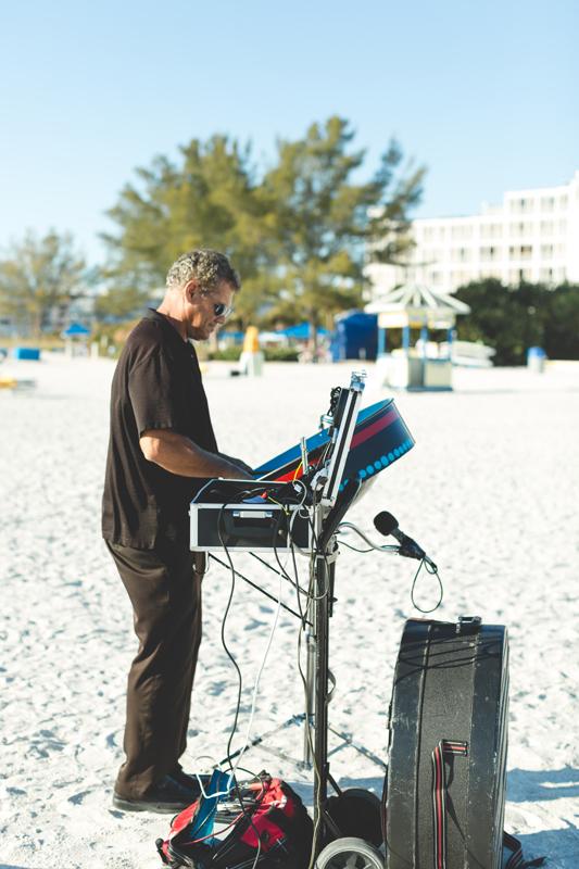 Steel drums - Tradewinds Island Grand Resort beach wedding - st pete beach - Jaime DiOrio Photography - Destination Orlando wedding photographer -  (34).JPG