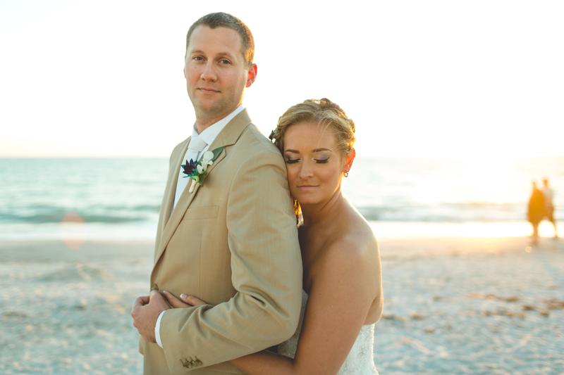 Bride and Groom beach photo - Tradewinds Island Grand Resort beach wedding - st pete beach - Jaime DiOrio Photography - Destination Orlando wedding photographer -  (58).JPG