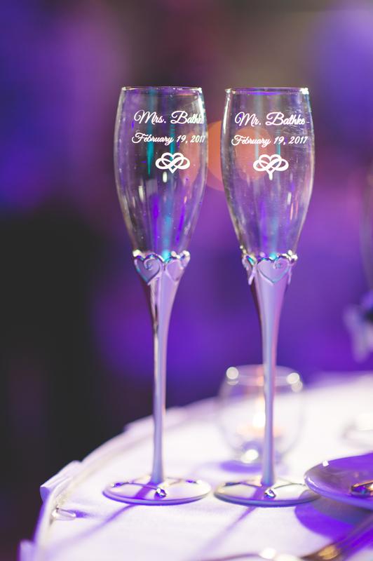 Bride and Groom champagne glasses - Tradewinds Island Grand Resort beach wedding - st pete beach - Jaime DiOrio Photography - Destination Orlando wedding photographer -  (63).JPG