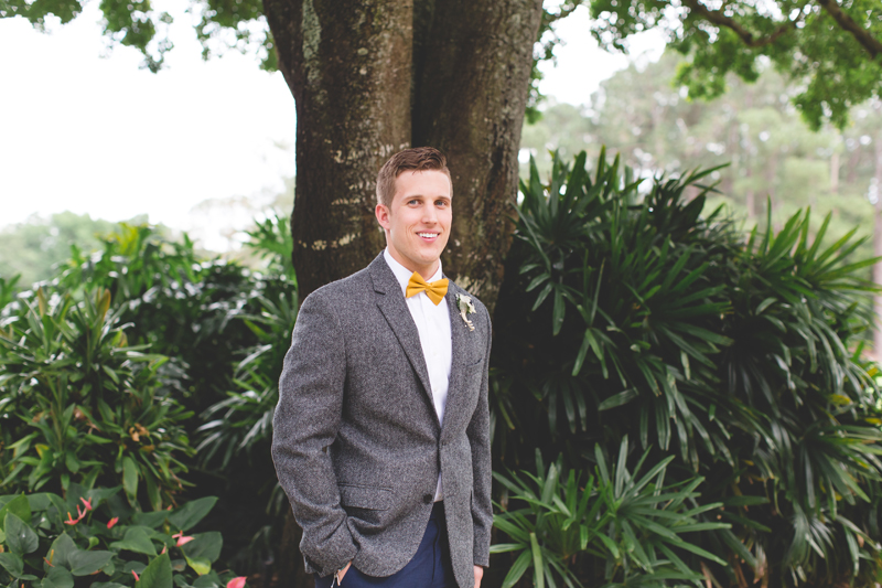Groom waiting for bride - bohemian inspired outdoor wedding at Mission Inn Resort - howey in the hills fl - destination orlando wedding photographer - Jaime DiOrio (52).jpg