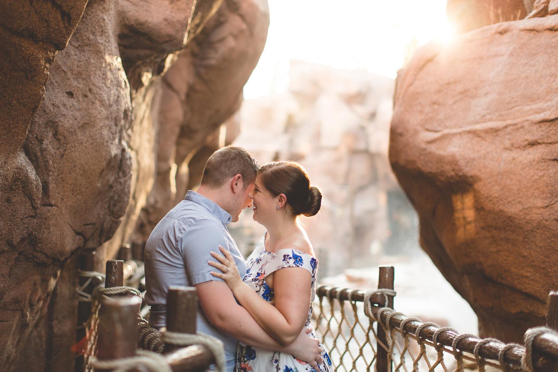 Jaime DiOrio - Disney World Engagement Photo - Orlando Wedding Photographer - Orlando Engagement Photographer - Magic Kingdom Engagement photos - Epcot Engagement photos.jpg