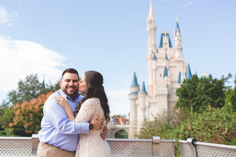 Jaime DiOrio - Disney World Engagement Photo - Orlando Wedding Photographer - Orlando Engagement Photographer - Magic Kingdom Engagement session photos.jpg