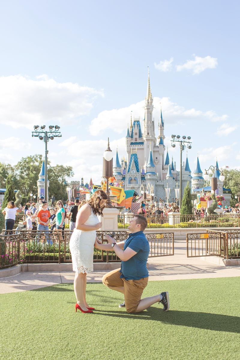Jaime DiOrio - Magic Kingdom Engagement Session - Epcot Engagement Session - Disney Engagement photos - Magic Kingdom Engagement Photos (1).jpg
