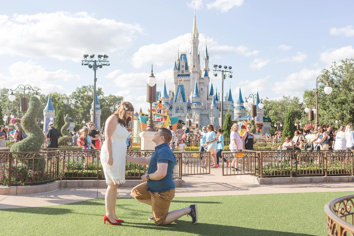 Jaime DiOrio - Magic Kingdom Engagement Session - Epcot Engagement Session - Disney Engagement photos - Magic Kingdom Engagement Photos (2).jpg