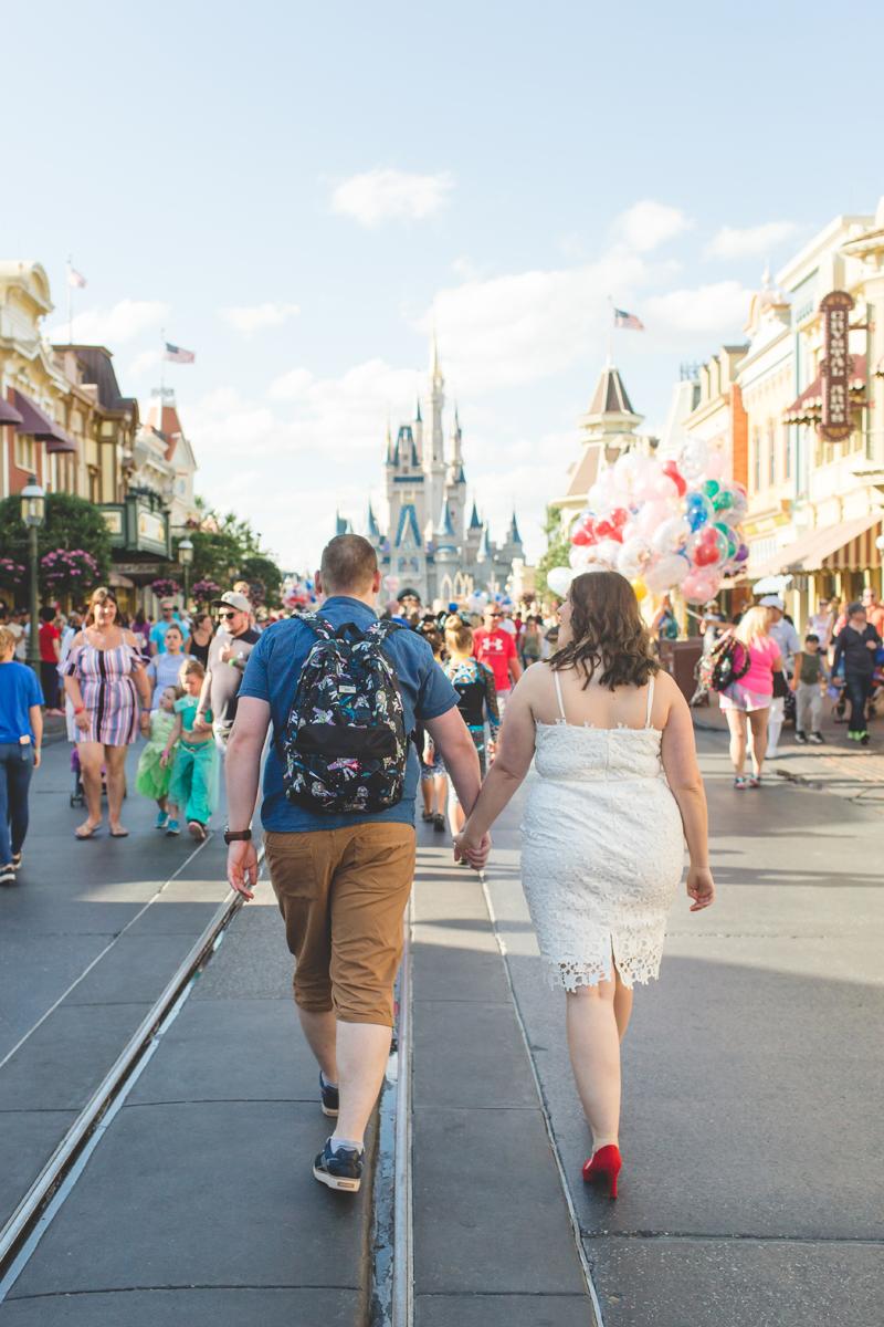 Jaime DiOrio - Magic Kingdom Engagement Session - Epcot Engagement Session - Disney Engagement photos - Magic Kingdom Engagement Photos (4).jpg