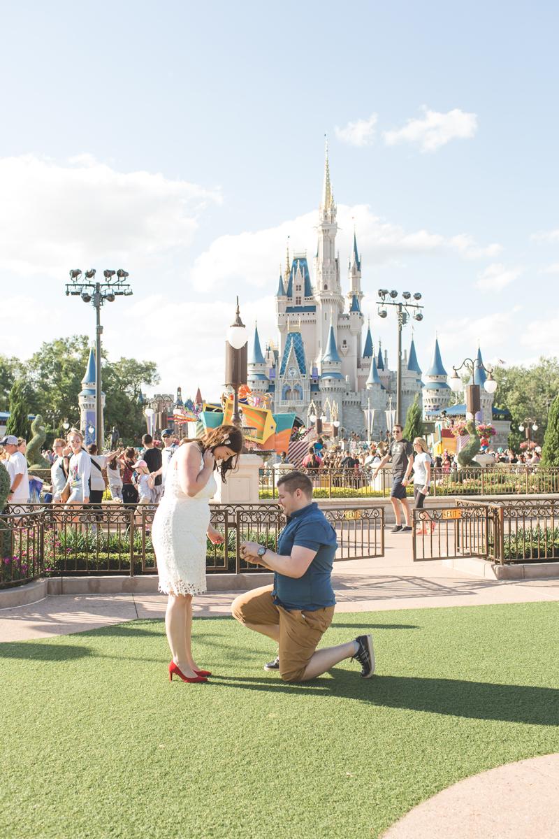 Jaime DiOrio - Magic Kingdom Engagement Session - Epcot Engagement Session - Disney Engagement photos - Magic Kingdom Engagement Photos (7).jpg