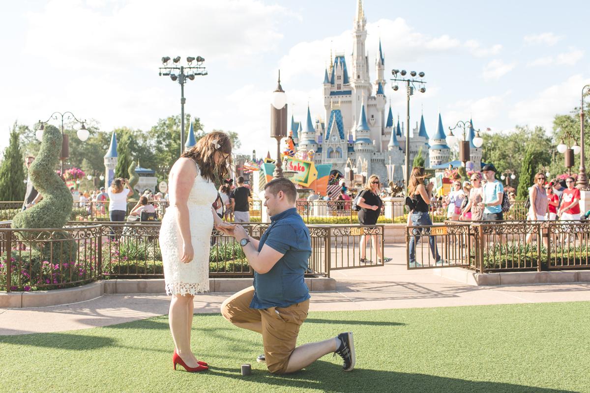 Jaime DiOrio - Magic Kingdom Engagement Session - Epcot Engagement Session - Disney Engagement photos - Magic Kingdom Engagement Photos (8).jpg