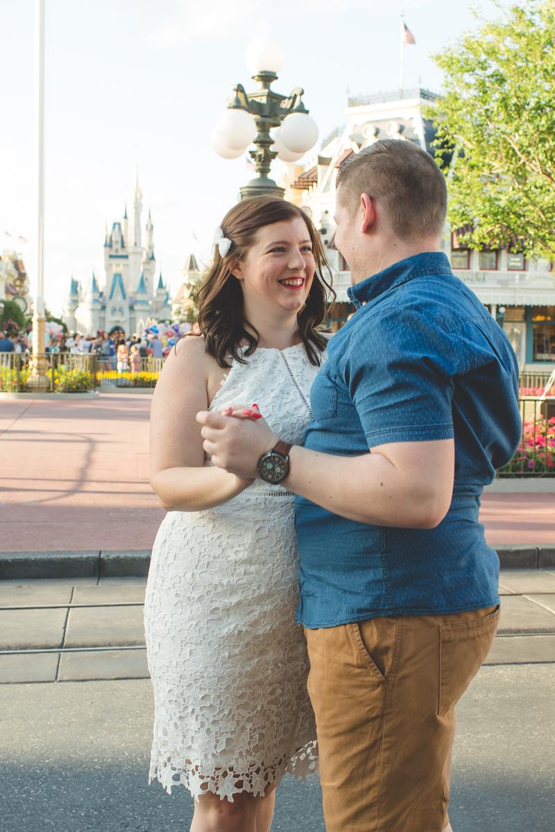 Jaime DiOrio - Magic Kingdom Engagement Session - Epcot Engagement Session - Disney Engagement photos - Magic Kingdom Engagement Photos (36).jpg