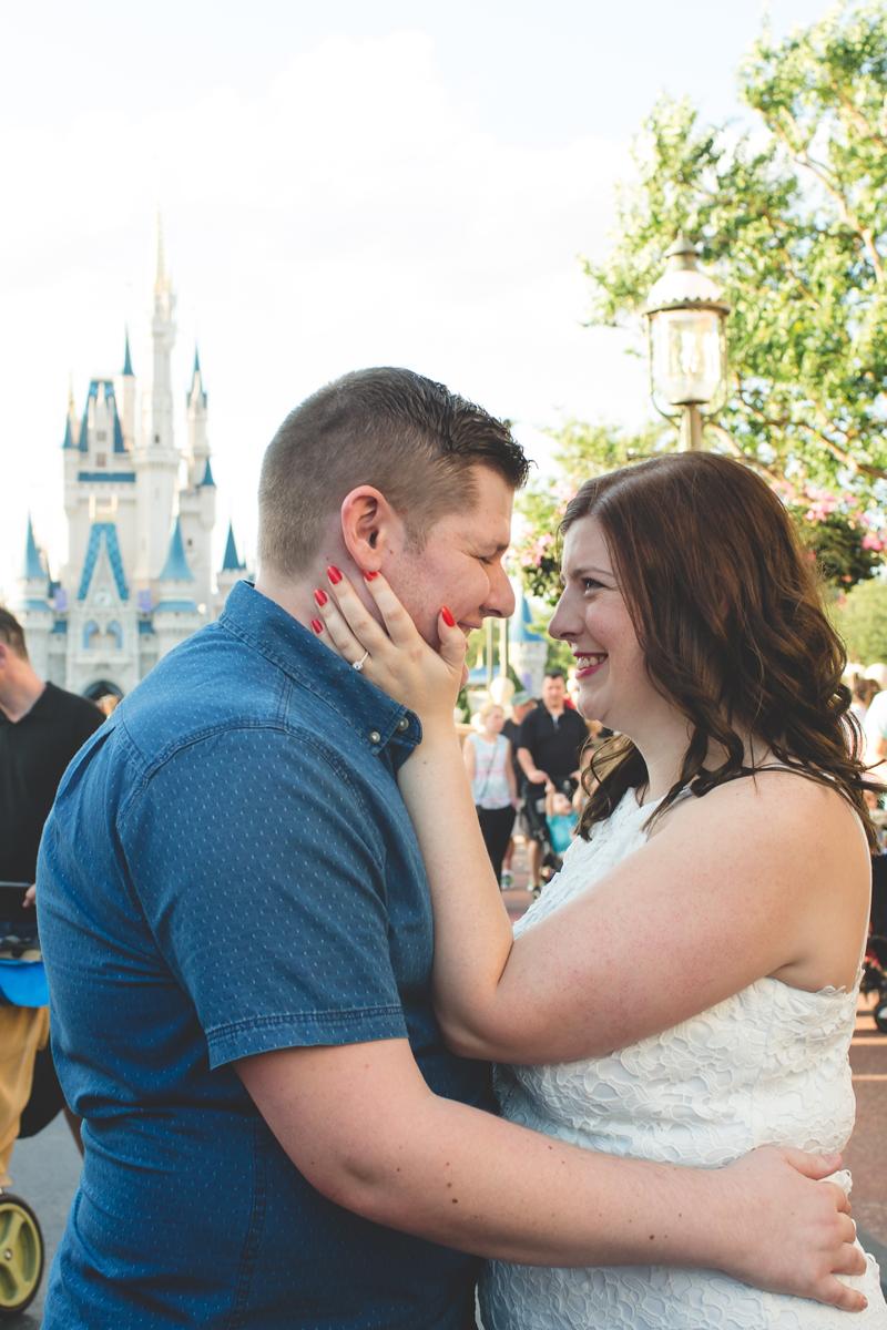 Jaime DiOrio - Magic Kingdom Engagement Session - Epcot Engagement Session - Disney Engagement photos - Magic Kingdom Engagement Photos (41).jpg