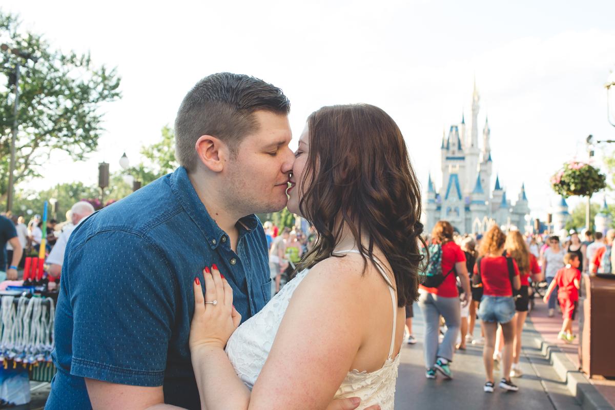 Jaime DiOrio - Magic Kingdom Engagement Session - Epcot Engagement Session - Disney Engagement photos - Magic Kingdom Engagement Photos (43).jpg