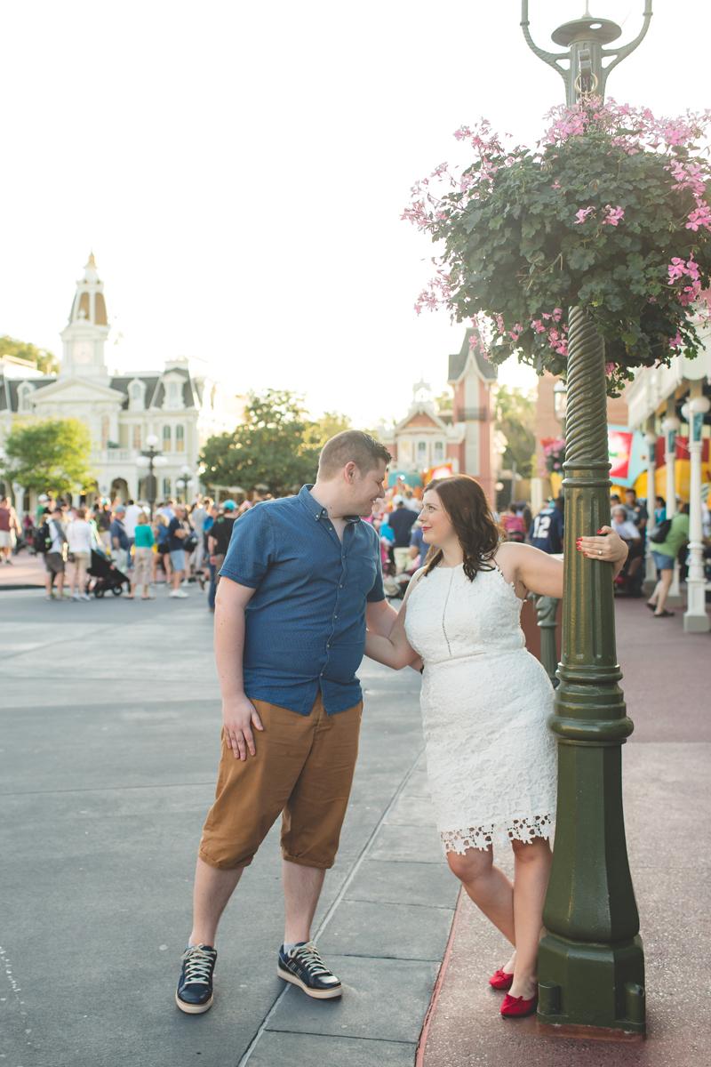 Jaime DiOrio - Magic Kingdom Engagement Session - Epcot Engagement Session - Disney Engagement photos - Magic Kingdom Engagement Photos (49).jpg