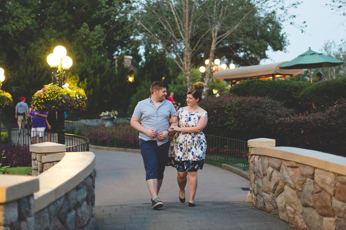 Jaime DiOrio - Magic Kingdom Engagement Session - Epcot Engagement Session - Disney Engagement photos - Magic Kingdom Engagement Photos (123).jpg