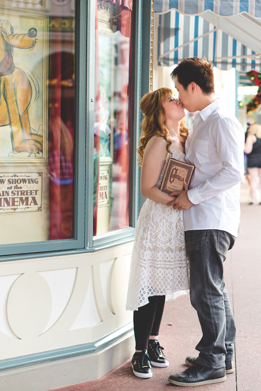 Disney Honeymoon photos - Disney Engagement photos - Magic Kingdom Engagement photographer - Disney engagement photographer - Destination Orlando Wedding Photographer - Jaime DiOrio (6).jpg