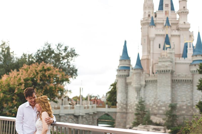Disney Honeymoon photos - Disney Engagement photos - Magic Kingdom Engagement photographer - Disney engagement photographer - Destination Orlando Wedding Photographer - Jaime DiOrio (14).jpg