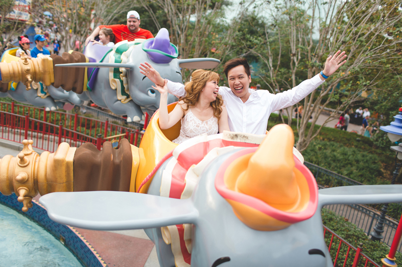 Disney Honeymoon photos - Disney Engagement photos - Magic Kingdom Engagement photographer - Disney engagement photographer - Destination Orlando Wedding Photographer - Jaime DiOrio (37).jpg
