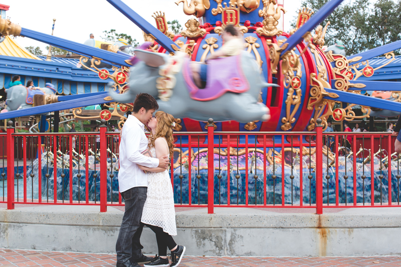 Disney Honeymoon photos - Disney Engagement photos - Magic Kingdom Engagement photographer - Disney engagement photographer - Destination Orlando Wedding Photographer - Jaime DiOrio (29).jpg