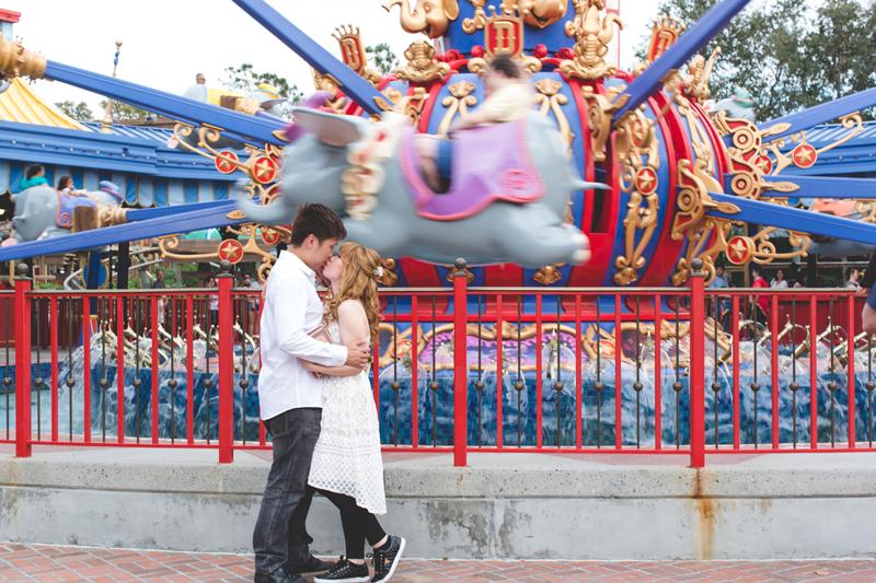 Disney Honeymoon photos - Disney Engagement photos - Magic Kingdom Engagement photographer - Disney engagement photographer - Destination Orlando Wedding Photographer - Jaime DiOrio (29).jpg
