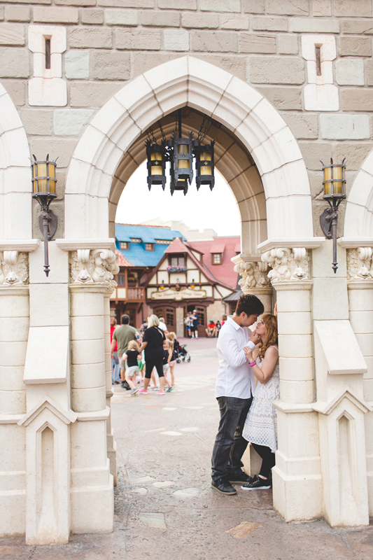Disney Honeymoon photos - Disney Engagement photos - Magic Kingdom Engagement photographer - Disney engagement photographer - Destination Orlando Wedding Photographer - Jaime DiOrio (39).jpg