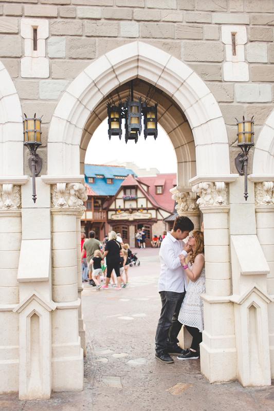 Disney Honeymoon photos - Disney Engagement photos - Magic Kingdom Engagement photographer - Disney engagement photographer - Destination Orlando Wedding Photographer - Jaime DiOrio (39).jpg