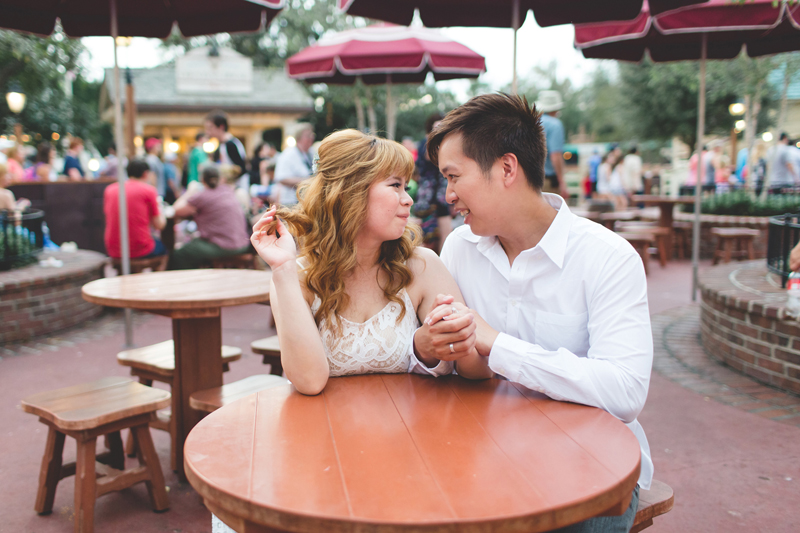 Disney Honeymoon photos - Disney Engagement photos - Magic Kingdom Engagement photographer - Disney engagement photographer - Destination Orlando Wedding Photographer - Jaime DiOrio (75).jpg