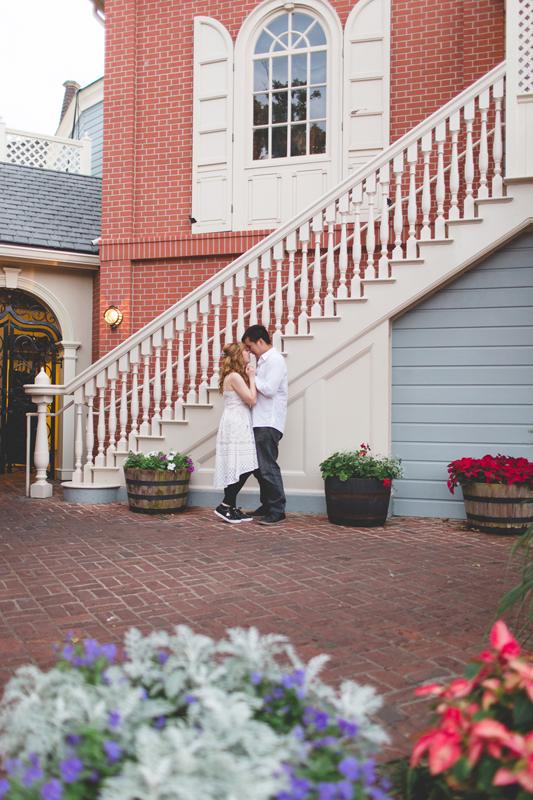 Disney Honeymoon photos - Disney Engagement photos - Magic Kingdom Engagement photographer - Disney engagement photographer - Destination Orlando Wedding Photographer - Jaime DiOrio (80).jpg