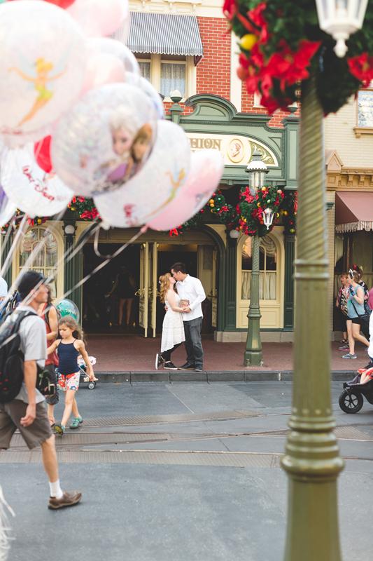 Disney Honeymoon photos - Disney Engagement photos - Magic Kingdom Engagement photographer - Disney engagement photographer - Destination Orlando Wedding Photographer - Jaime DiOrio (85).jpg