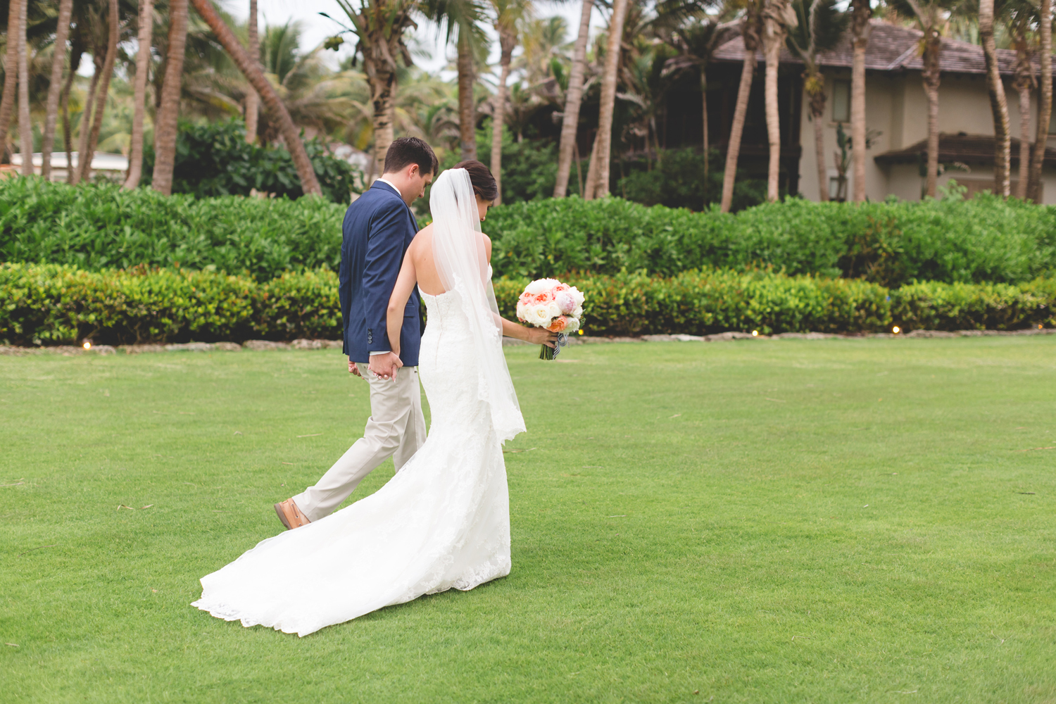 Sweet Outdoor Summer Beach Wedding in Puerto Rico