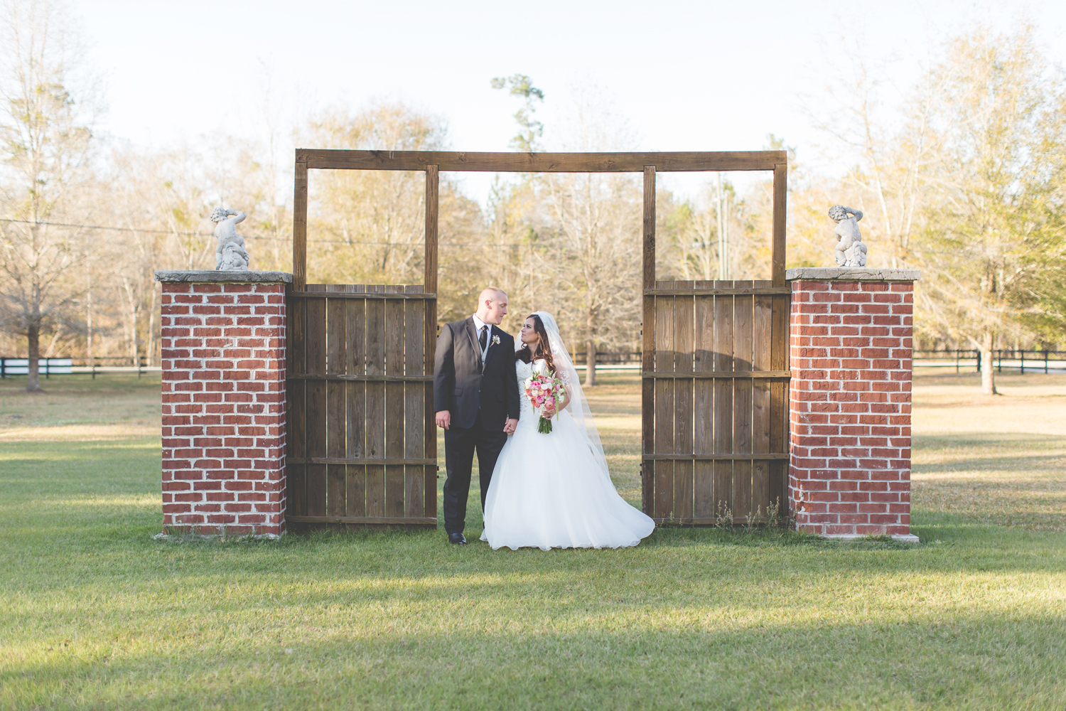 Rustic Outdoor Wedding at The White Barn