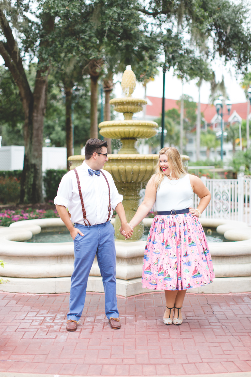 Disney engagement Session - Disney Engagement Photographer - Magic Kingdom Engagement Photos - Jaime DiOrio - Destination Orlando Wedding Photographer (14).jpg