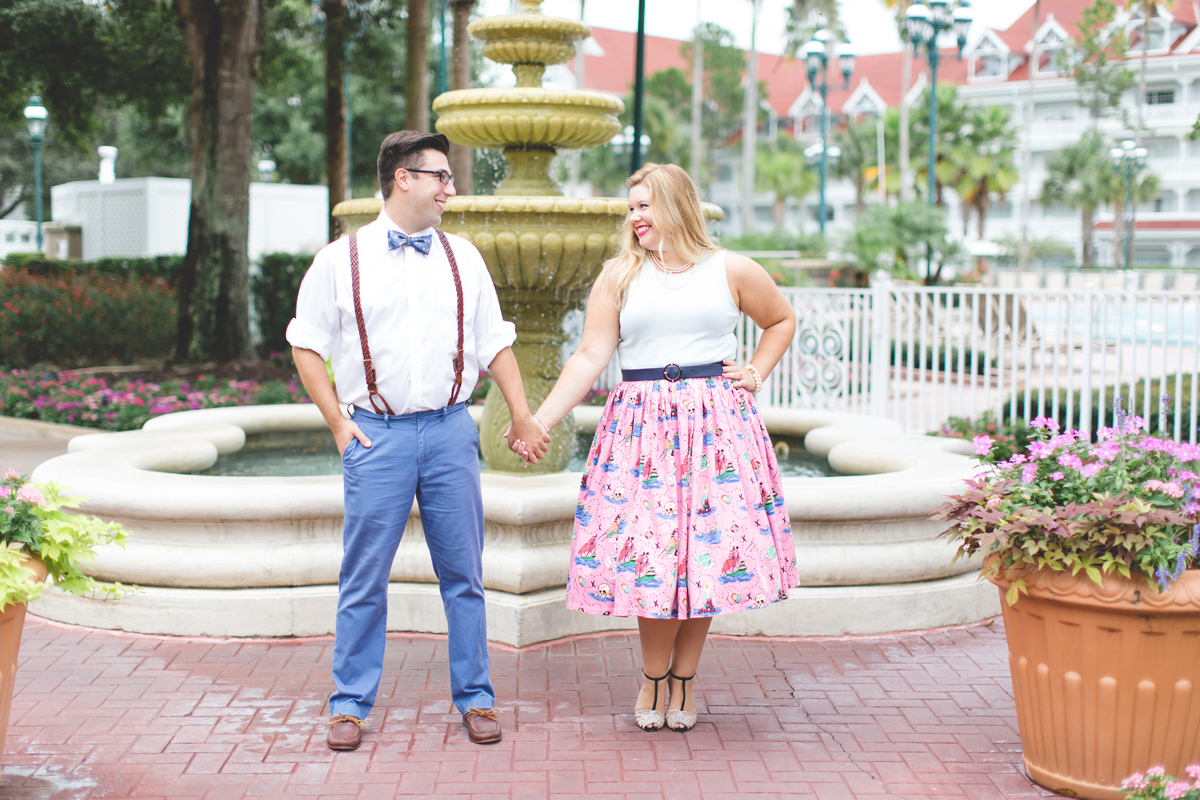 Disney engagement Session - Disney Engagement Photographer - Magic Kingdom Engagement Photos - Jaime DiOrio - Destination Orlando Wedding Photographer (15).jpg