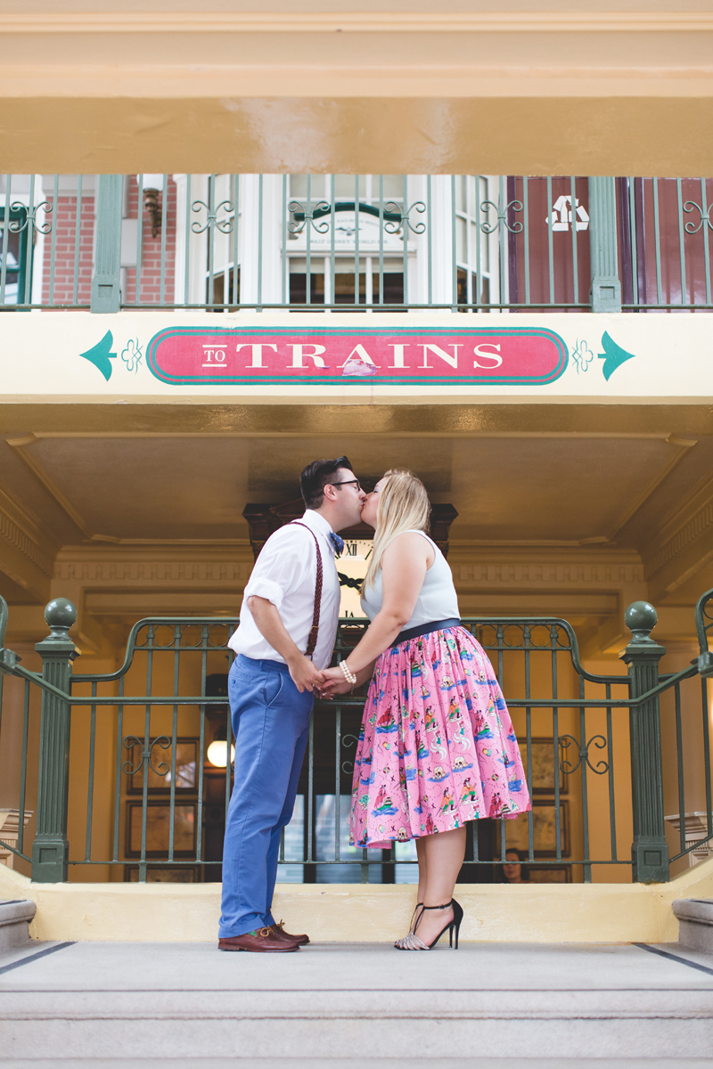 Disney engagement Session - Disney Engagement Photographer - Magic Kingdom Engagement Photos - Jaime DiOrio - Destination Orlando Wedding Photographer (35).jpg