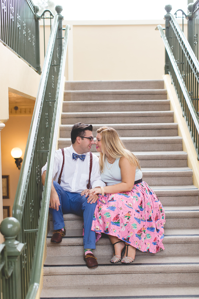 Disney engagement Session - Disney Engagement Photographer - Magic Kingdom Engagement Photos - Jaime DiOrio - Destination Orlando Wedding Photographer (40).jpg