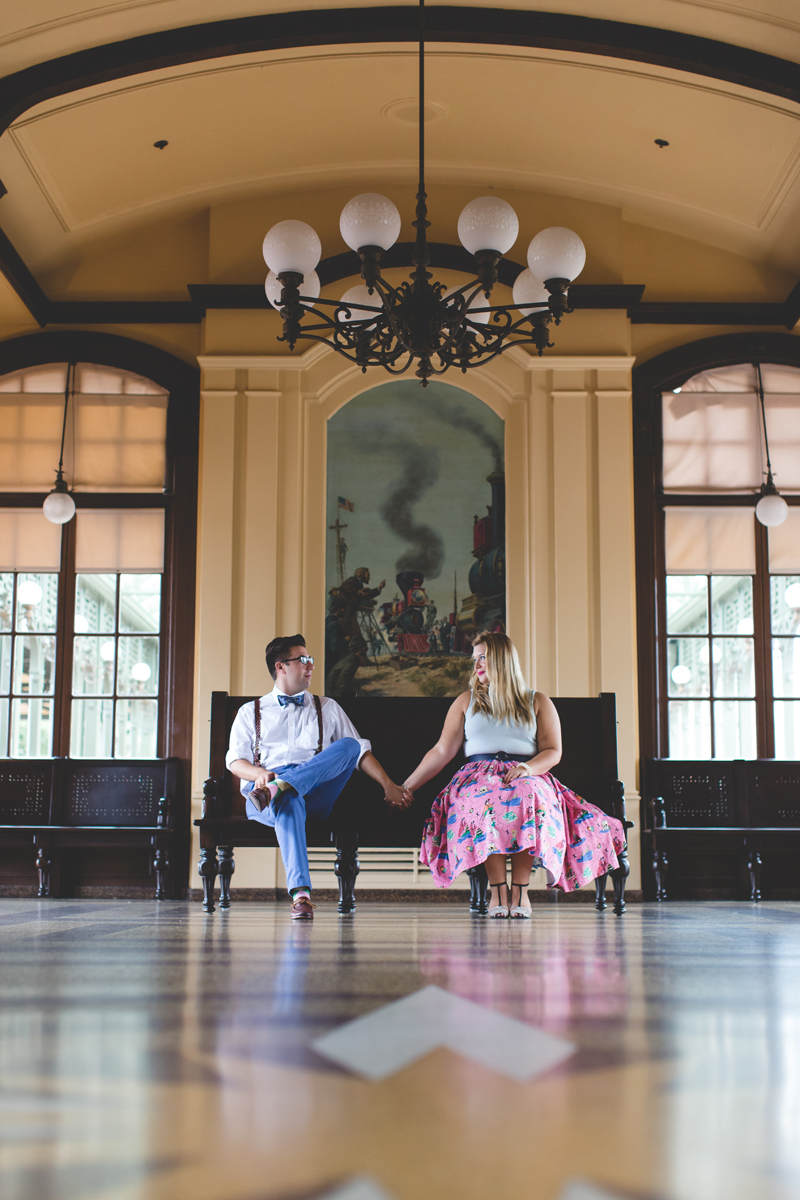 Disney engagement Session - Disney Engagement Photographer - Magic Kingdom Engagement Photos - Jaime DiOrio - Destination Orlando Wedding Photographer (44).jpg