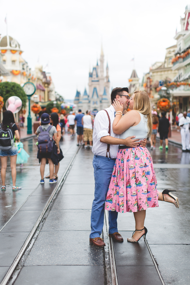 Disney engagement Session - Disney Engagement Photographer - Magic Kingdom Engagement Photos - Jaime DiOrio - Destination Orlando Wedding Photographer (48).jpg
