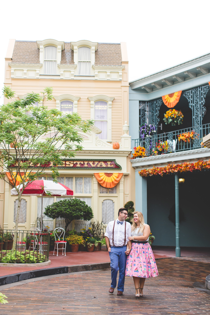 Disney engagement Session - Disney Engagement Photographer - Magic Kingdom Engagement Photos - Jaime DiOrio - Destination Orlando Wedding Photographer (49).jpg