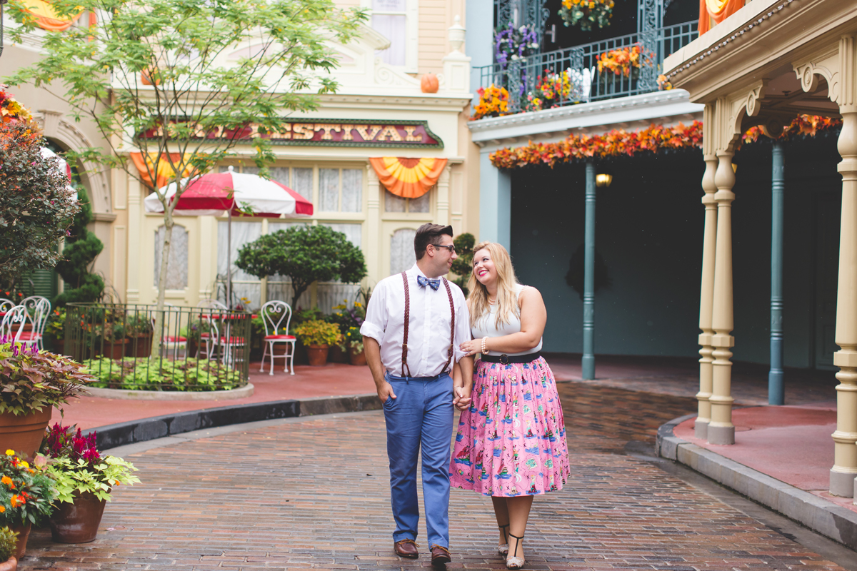 Disney engagement Session - Disney Engagement Photographer - Magic Kingdom Engagement Photos - Jaime DiOrio - Destination Orlando Wedding Photographer (50).jpg