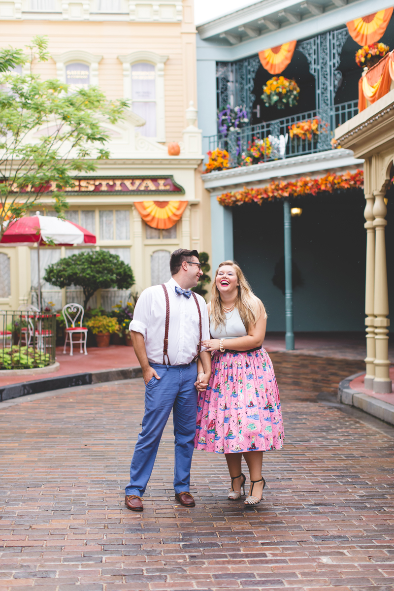 Disney engagement Session - Disney Engagement Photographer - Magic Kingdom Engagement Photos - Jaime DiOrio - Destination Orlando Wedding Photographer (51).jpg