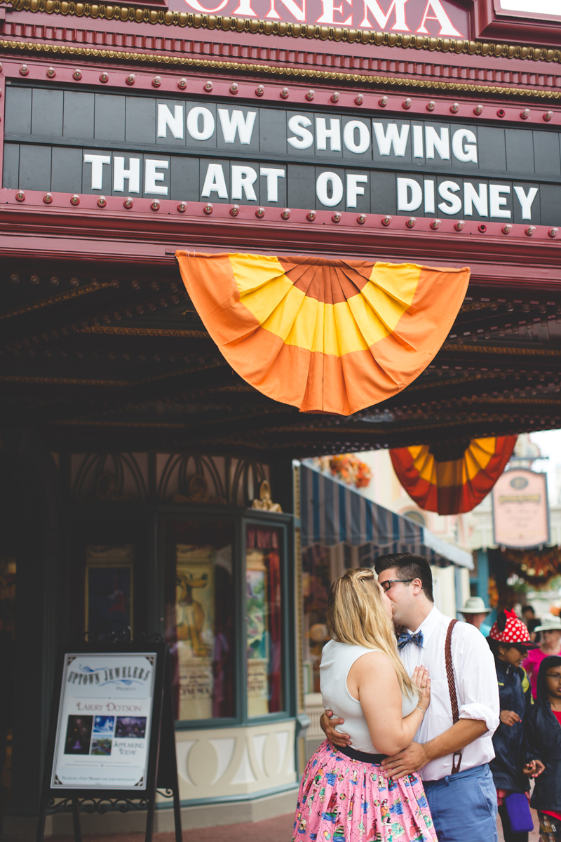 Disney engagement Session - Disney Engagement Photographer - Magic Kingdom Engagement Photos - Jaime DiOrio - Destination Orlando Wedding Photographer (52).jpg