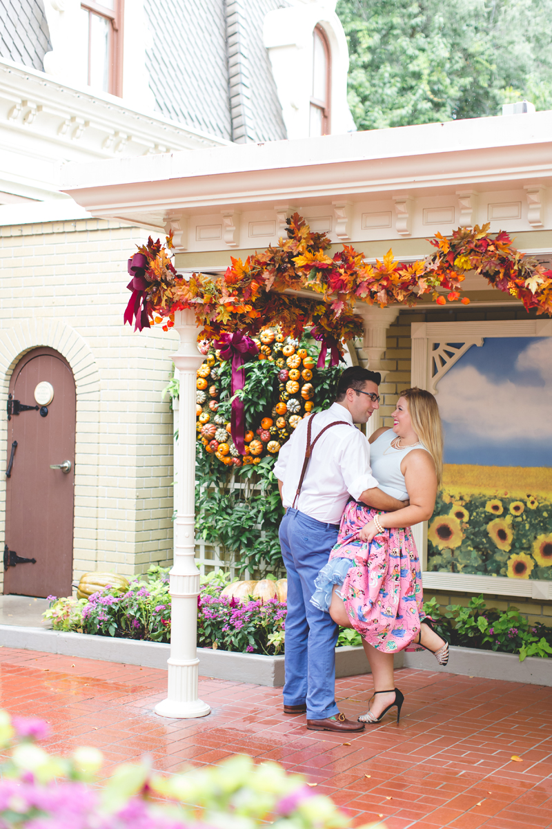 Disney engagement Session - Disney Engagement Photographer - Magic Kingdom Engagement Photos - Jaime DiOrio - Destination Orlando Wedding Photographer (60).jpg