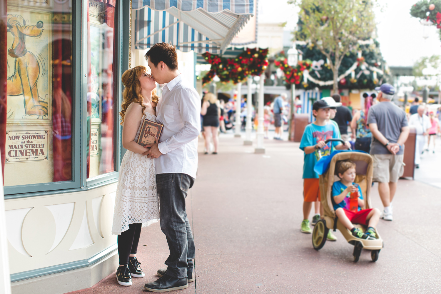 Disney Honeymoon session - Disney Engagement Photos - Disney Wedding Photographer - Destination Orlando Wedding Photographer - Jaime DiOrio (5).jpg