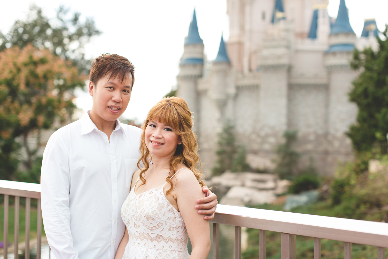 Disney Honeymoon session - Disney Engagement Photos - Disney Wedding Photographer - Destination Orlando Wedding Photographer - Jaime DiOrio (11).jpg