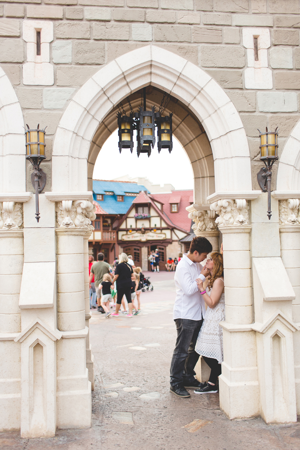 Disney Honeymoon session - Disney Engagement Photos - Disney Wedding Photographer - Destination Orlando Wedding Photographer - Jaime DiOrio (39).jpg