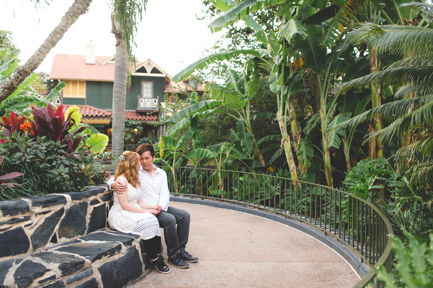 Disney Honeymoon session - Disney Engagement Photos - Disney Wedding Photographer - Destination Orlando Wedding Photographer - Jaime DiOrio (47).jpg