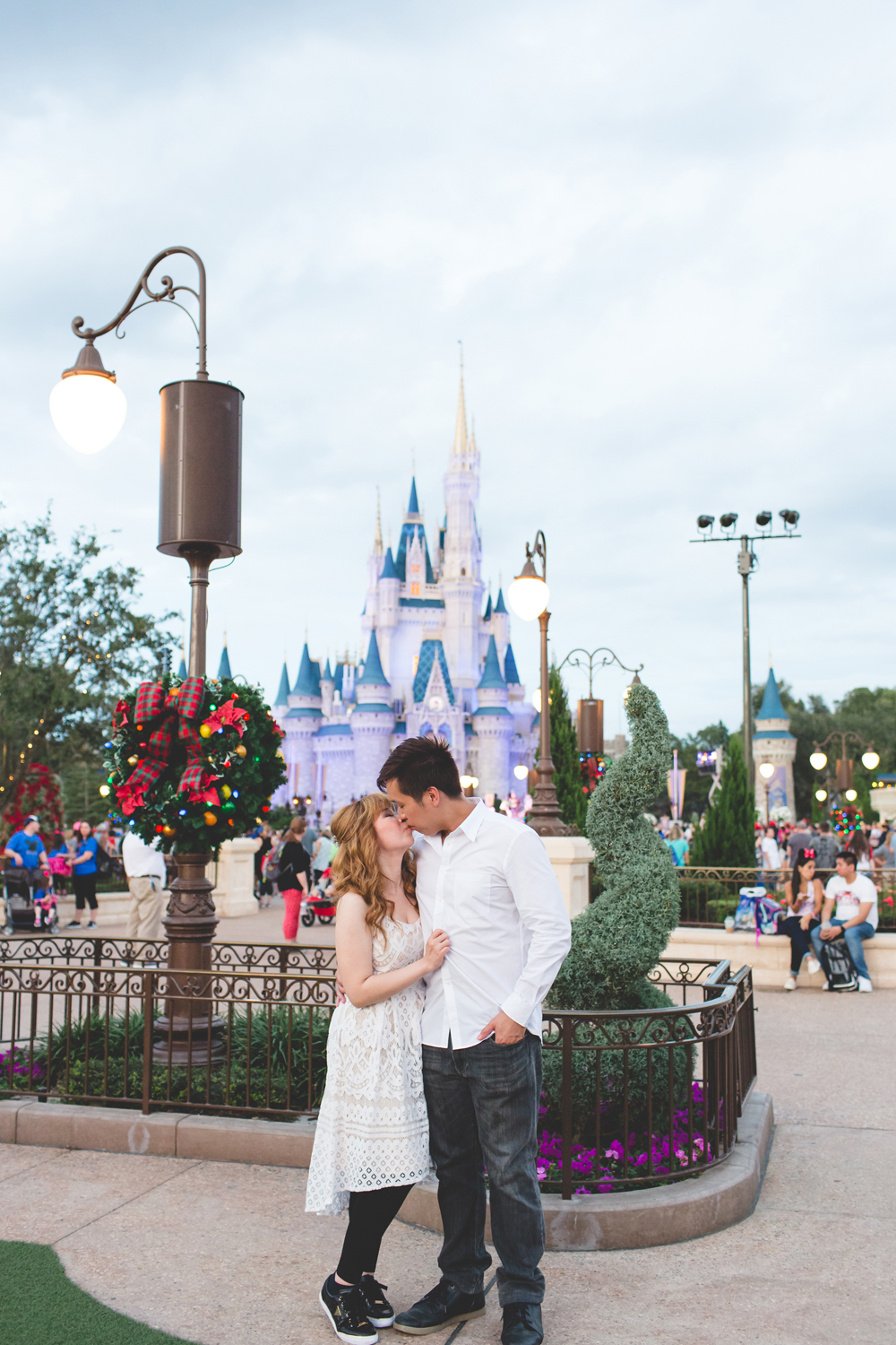 Disney Honeymoon session - Disney Engagement Photos - Disney Wedding Photographer - Destination Orlando Wedding Photographer - Jaime DiOrio (82).jpg