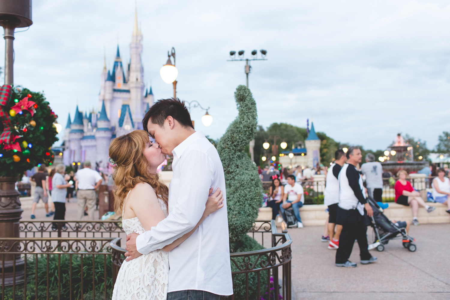 Disney Honeymoon session - Disney Engagement Photos - Disney Wedding Photographer - Destination Orlando Wedding Photographer - Jaime DiOrio (84).jpg